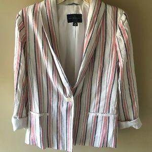Striped blazer size M